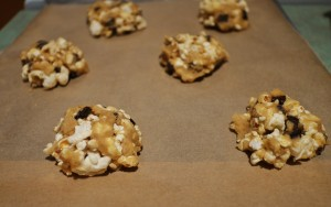 chocolate chip popcorn cookies